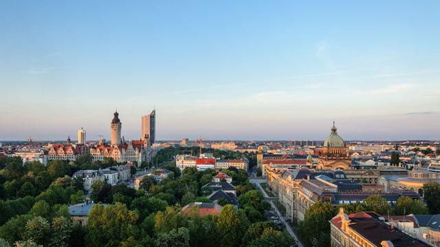 Die Stadt Berlin von oben