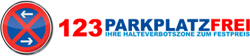 123ParkplatzFrei Halteverbotszonen beantragen Logo